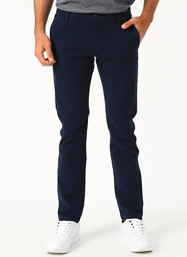 Dockers Dockers Smart 360 Flex Ultimate Chino Skinny Pantolon Lacivert